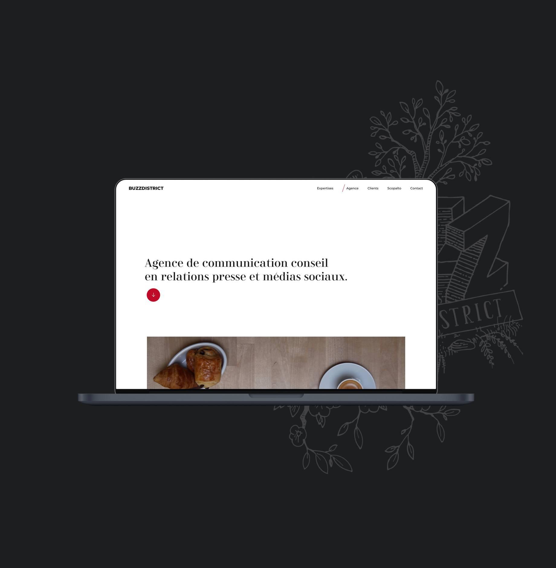 BUZZ DISTRICT par Agence Web Kernix