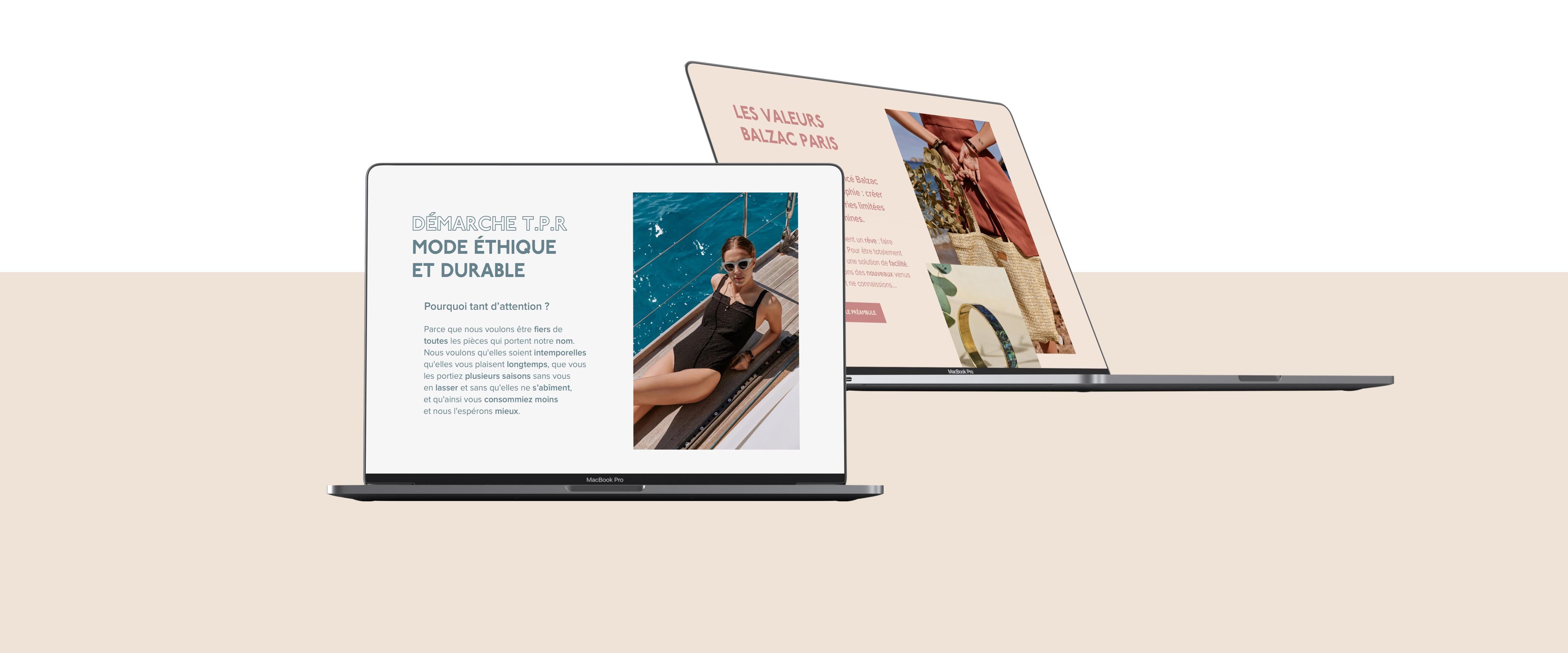 Balzac Paris par Agence Web Kernix