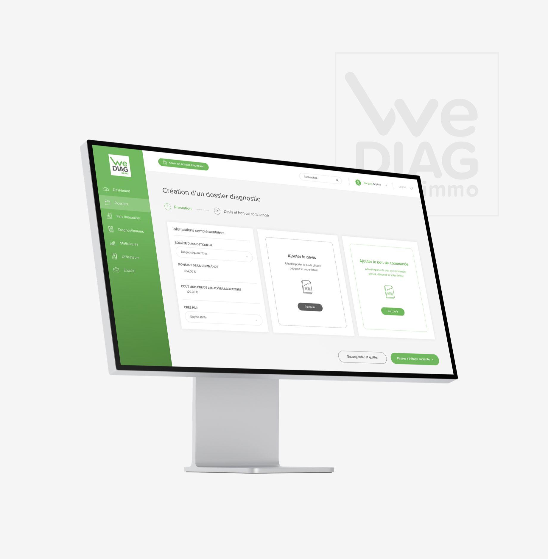 WeDIAG Immo par Agence Web Kernix