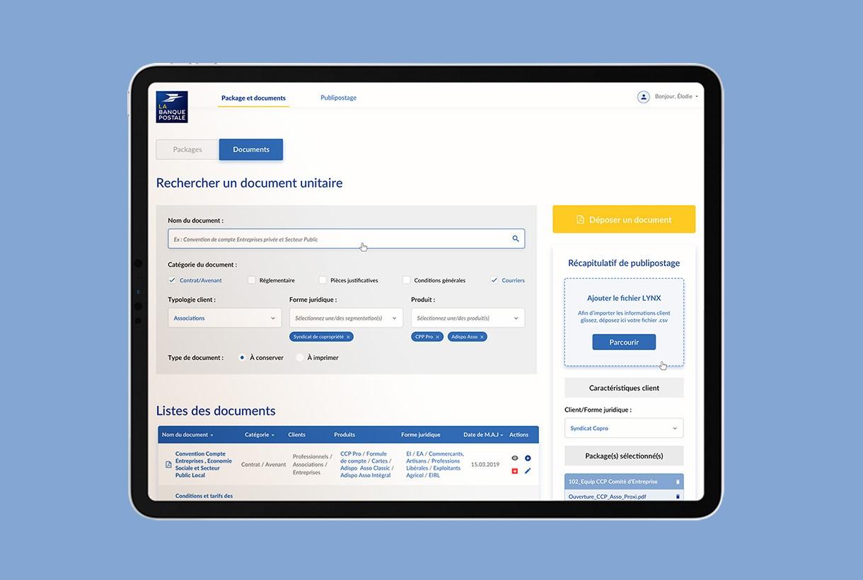La Banque Postale par Agence Web Kernix