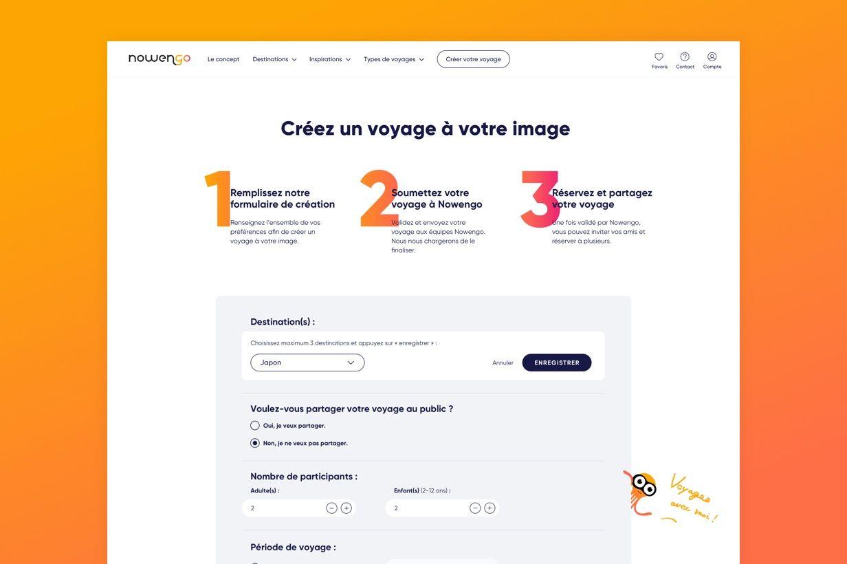 Nowengo par Agence Web Kernix