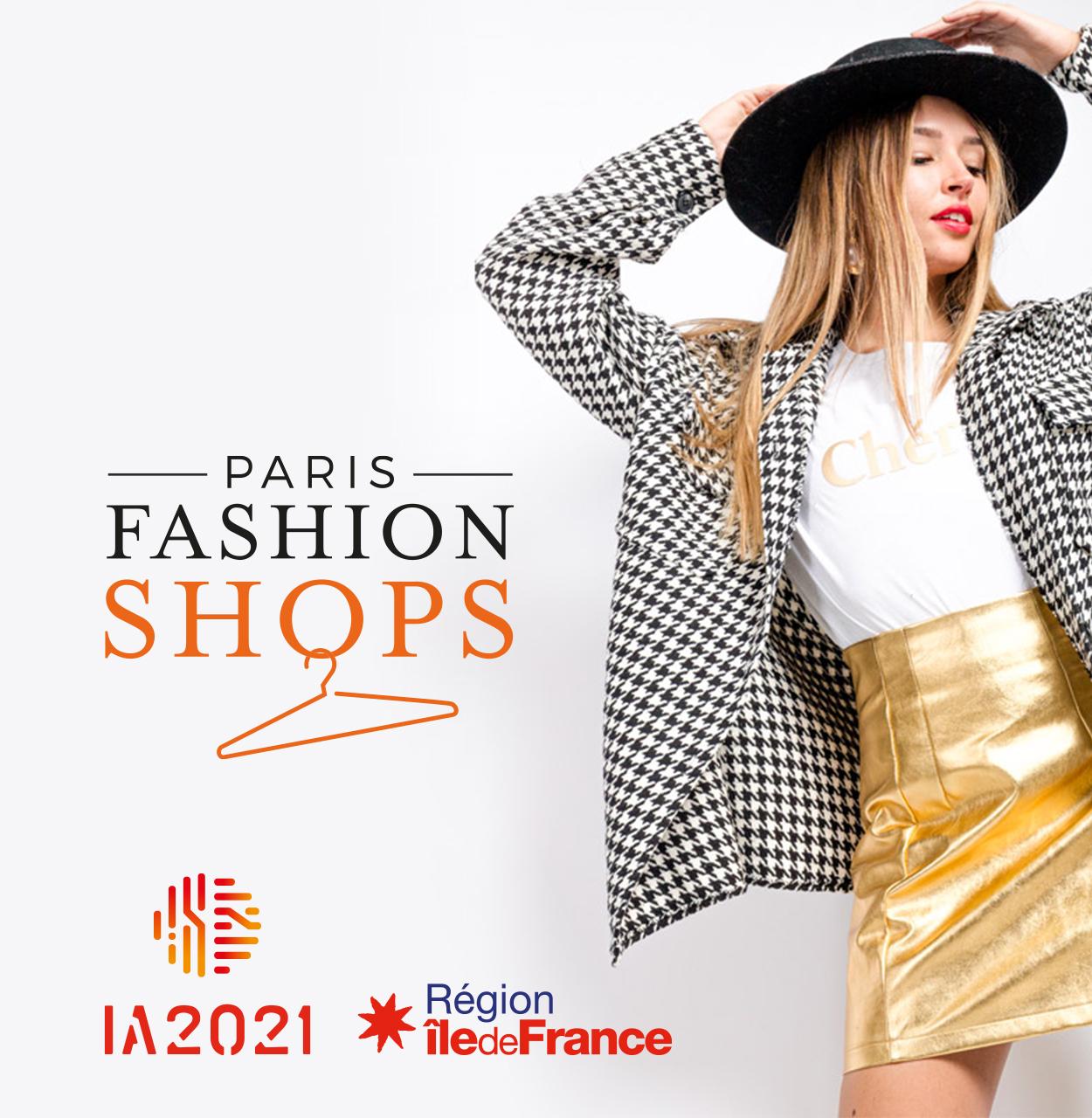 Paris Fashion Shops par Agence Web Kernix
