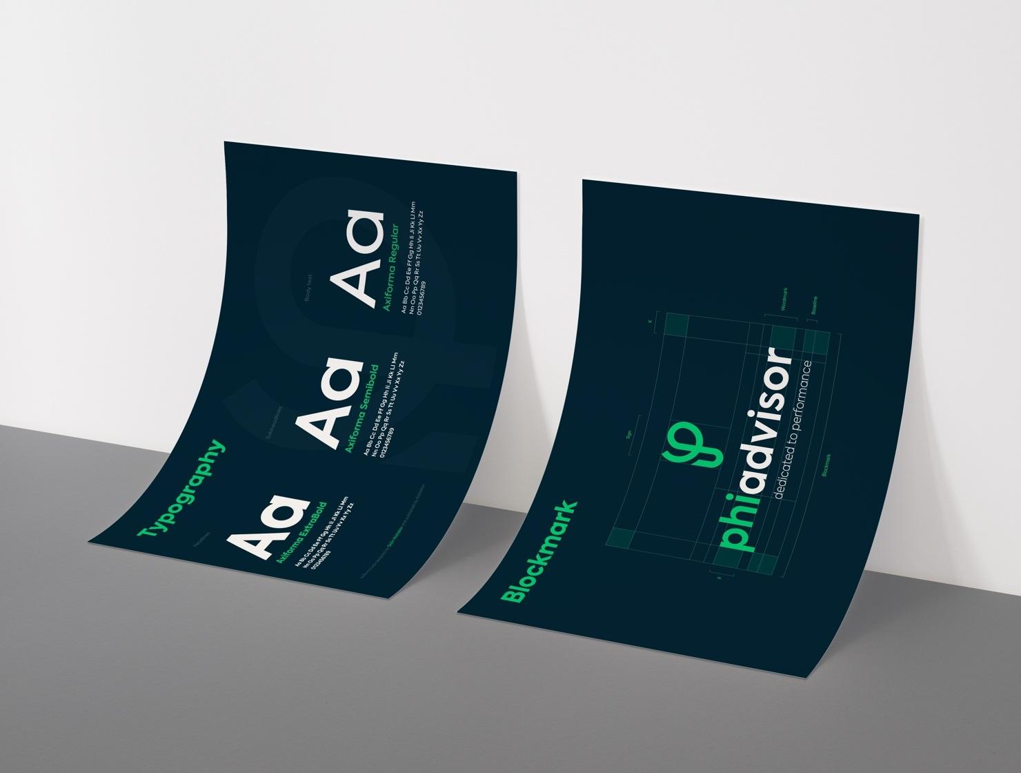 Phiadvisor par Agence Web Kernix - Identité visuelle