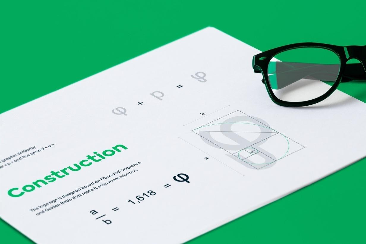 Phiadvisor par Agence Web Kernix - Construction du logotype