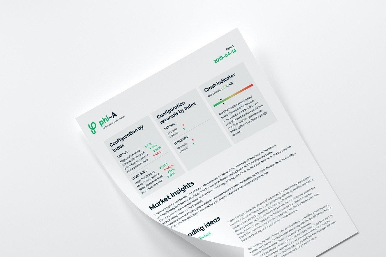 Phiadvisor par Agence Web Kernix - Rapport PDF
