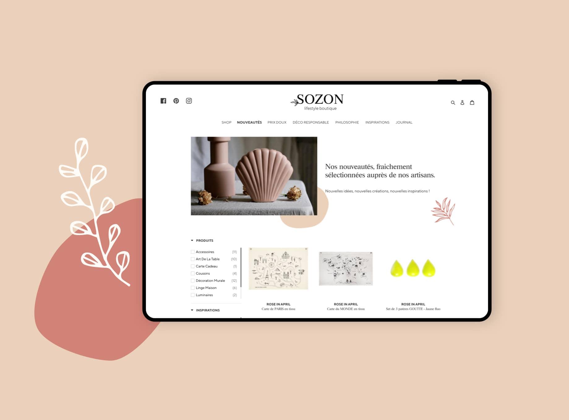 Sozon par Agence Web Kernix