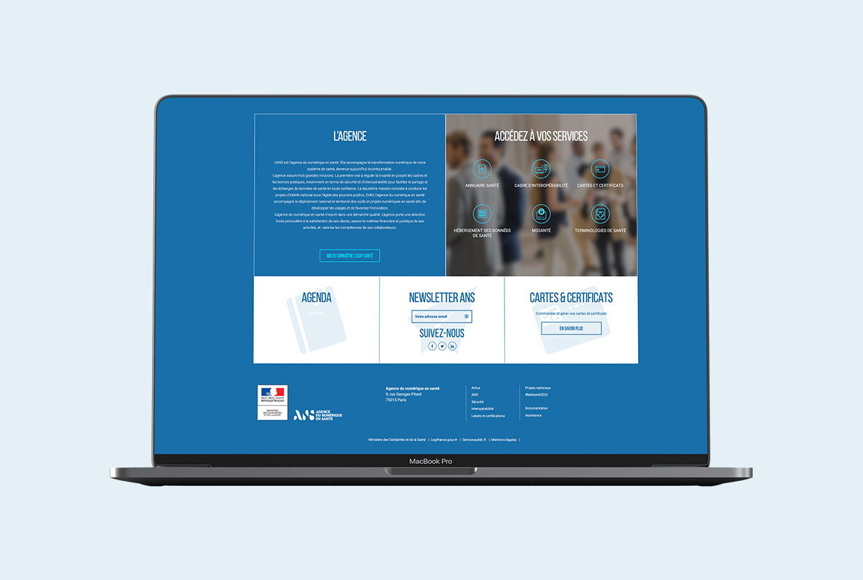 Agence du Numérique en Santé par Agence Web Kernix