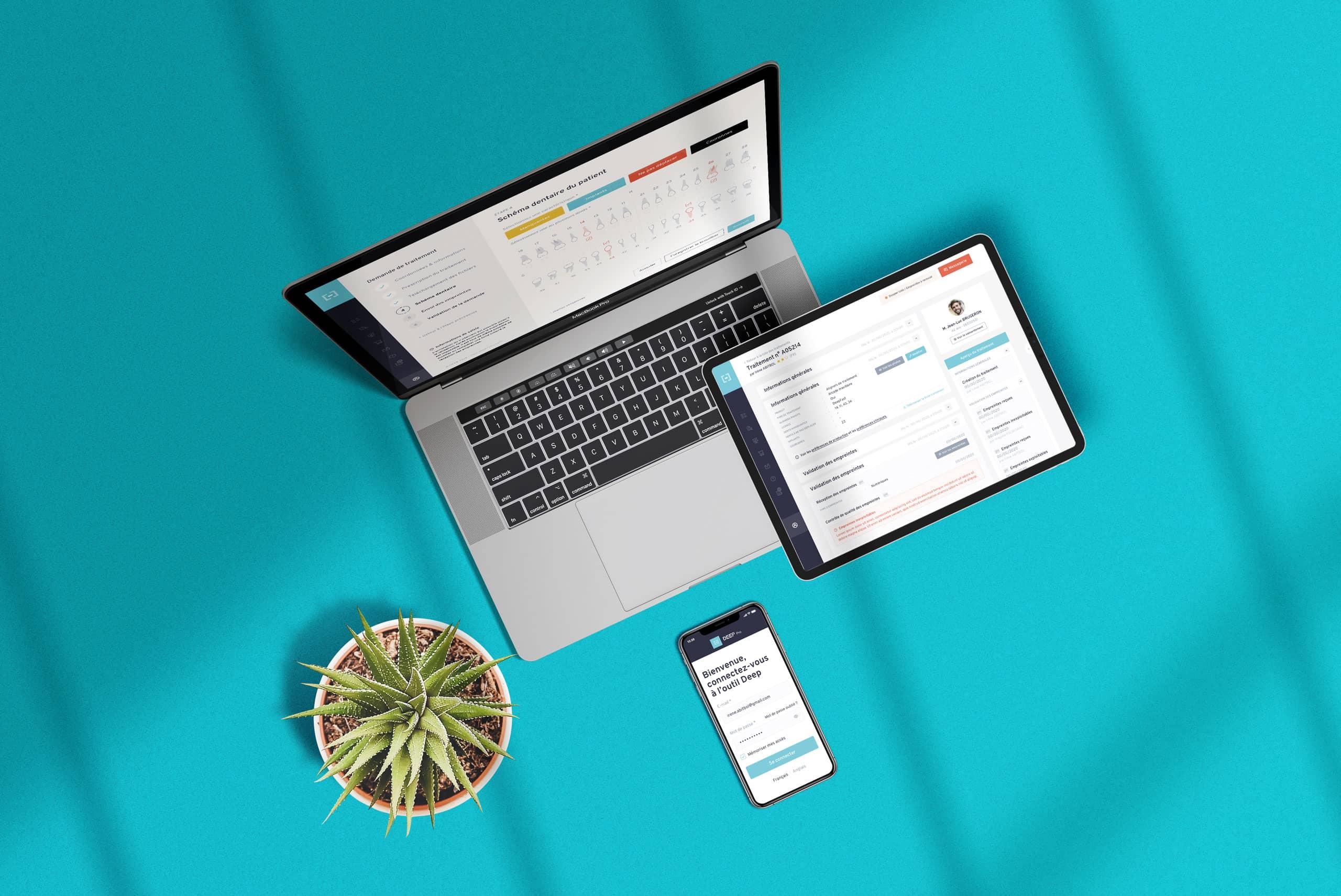 DEEP® par Agence Web Kernix - Mise en situation de l'application métier DEEP