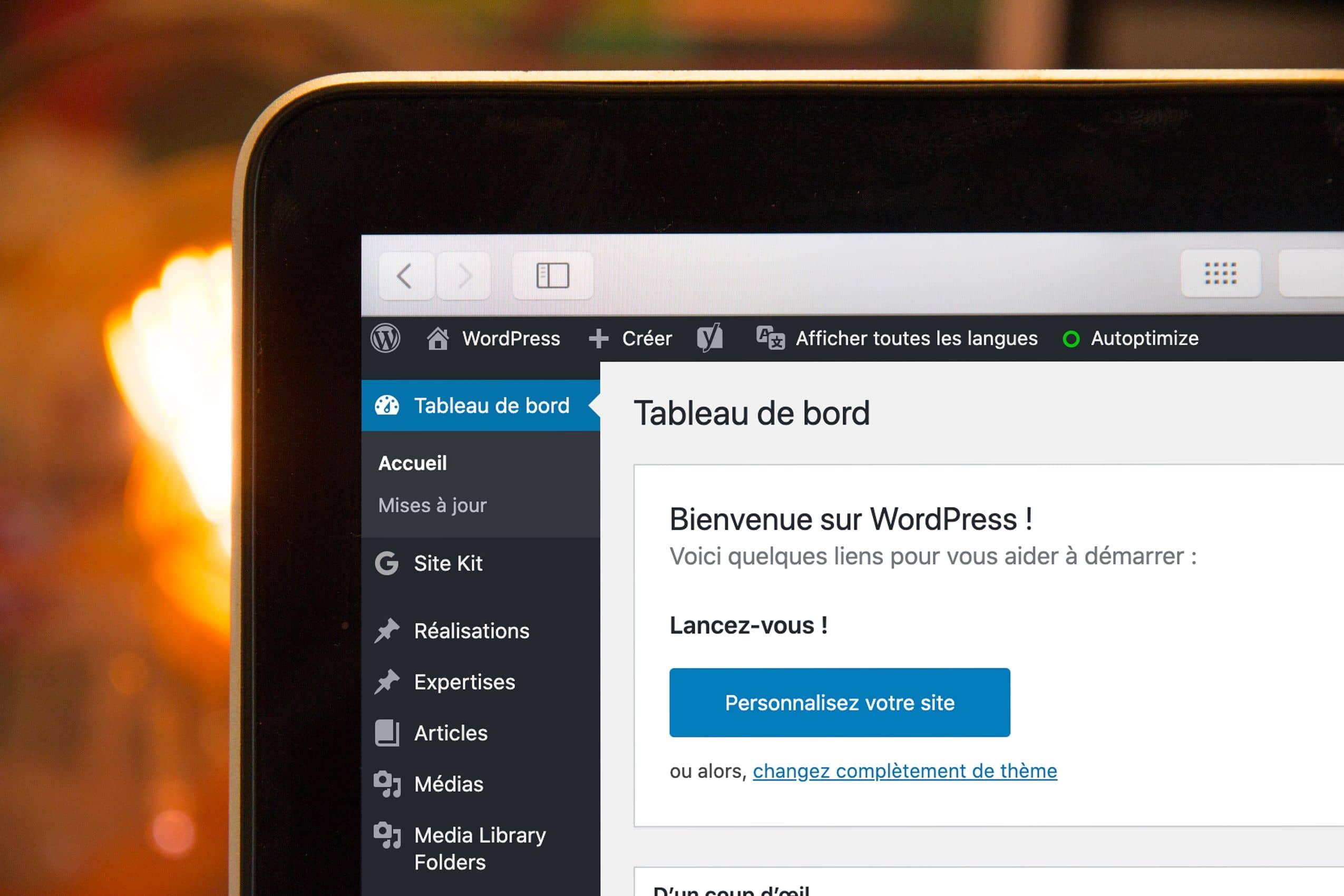 WordPress Back-office Kernix