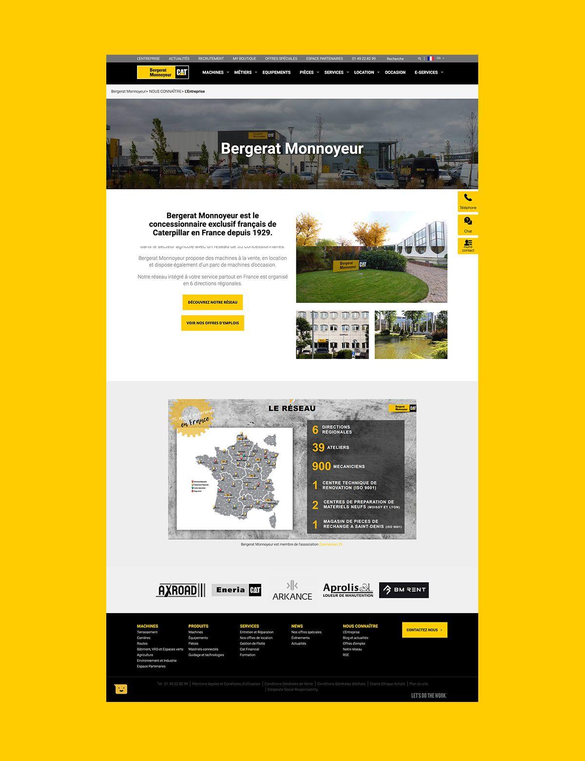 Bergerat Monnoyeur par Agence Web Kernix