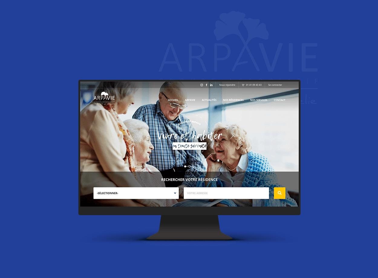 ARPAVIE par Agence Web Kernix