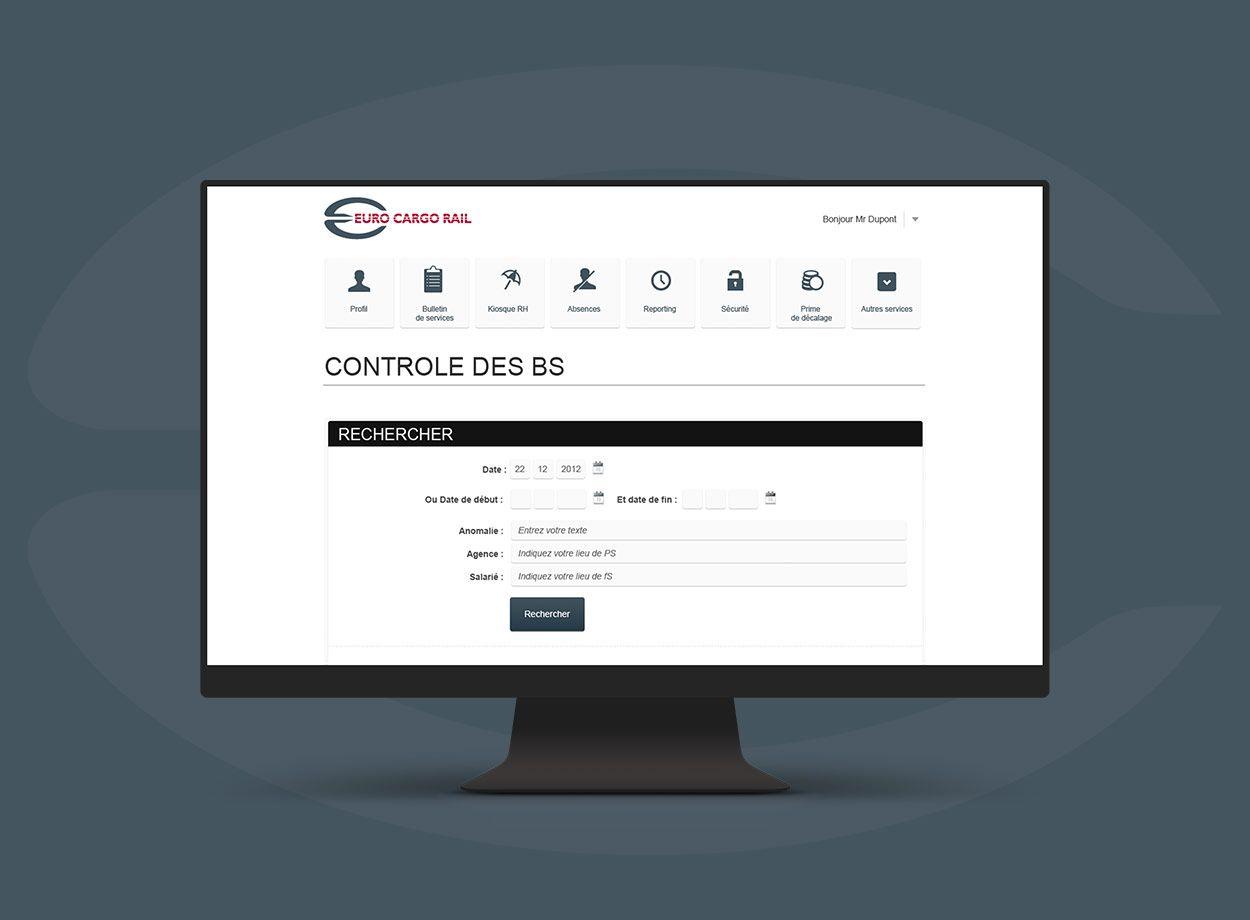 Euro Cargo Rail par Agence Web Kernix