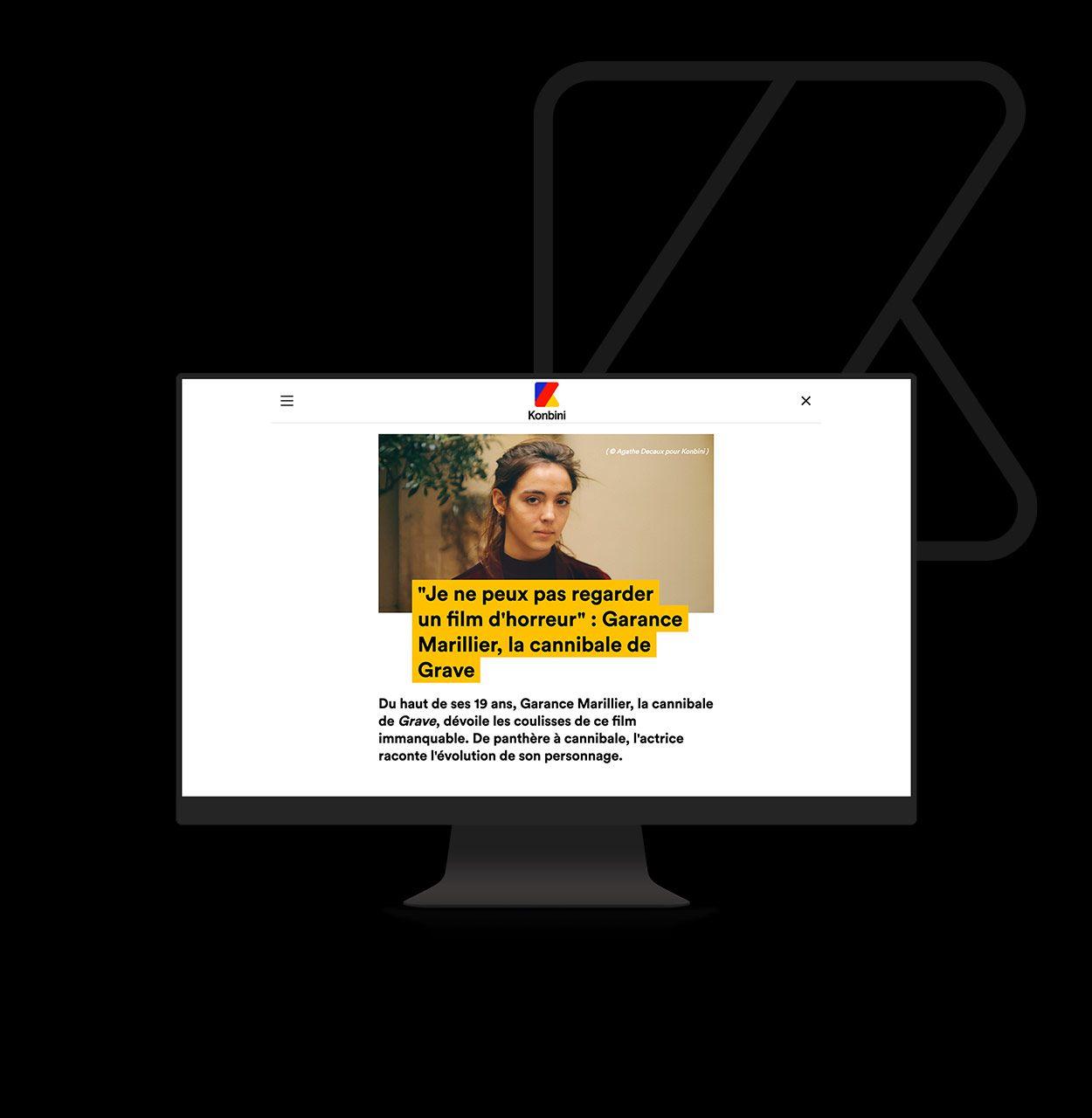Konbini par Agence Web Kernix