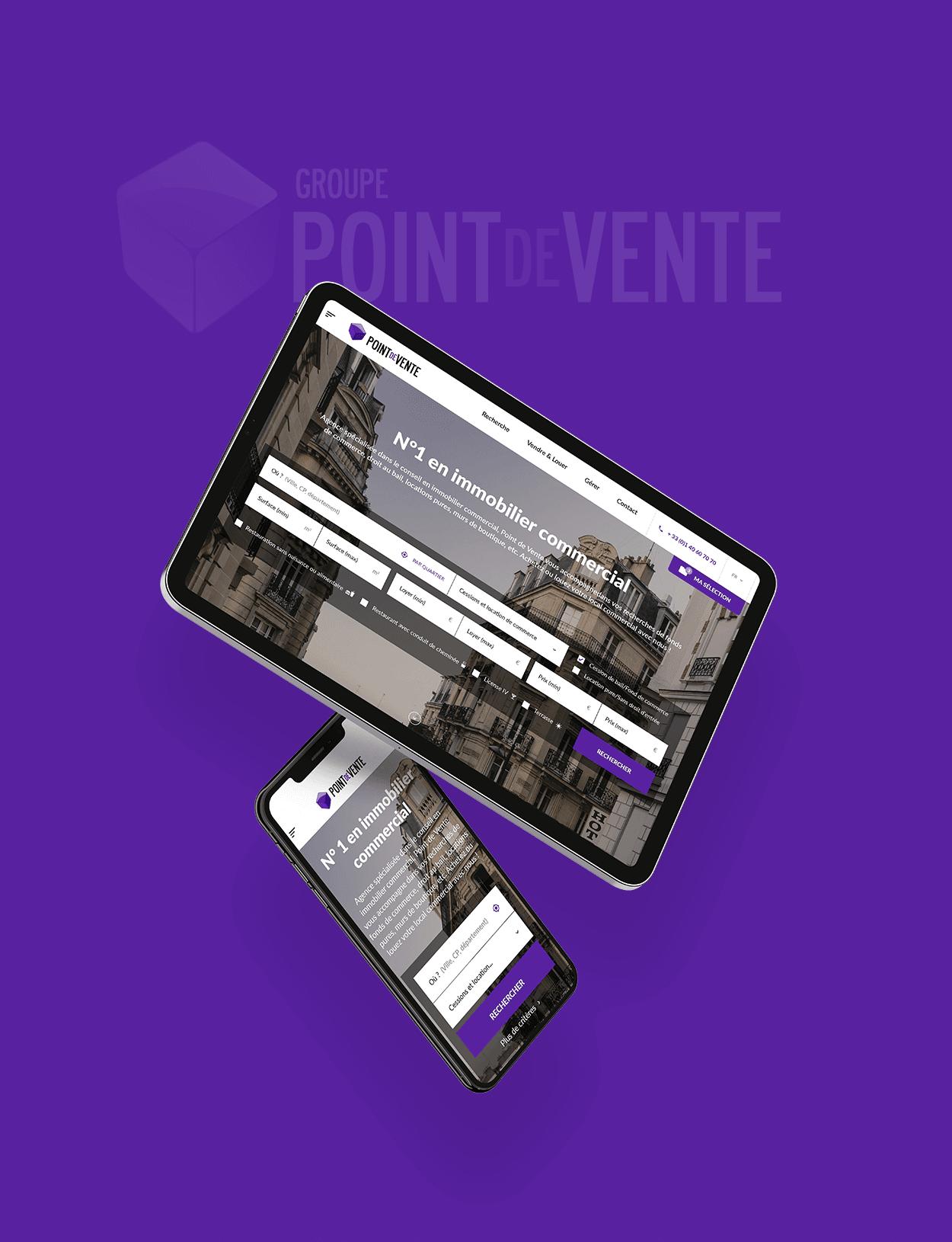 Point de Vente par Agence Web Kernix