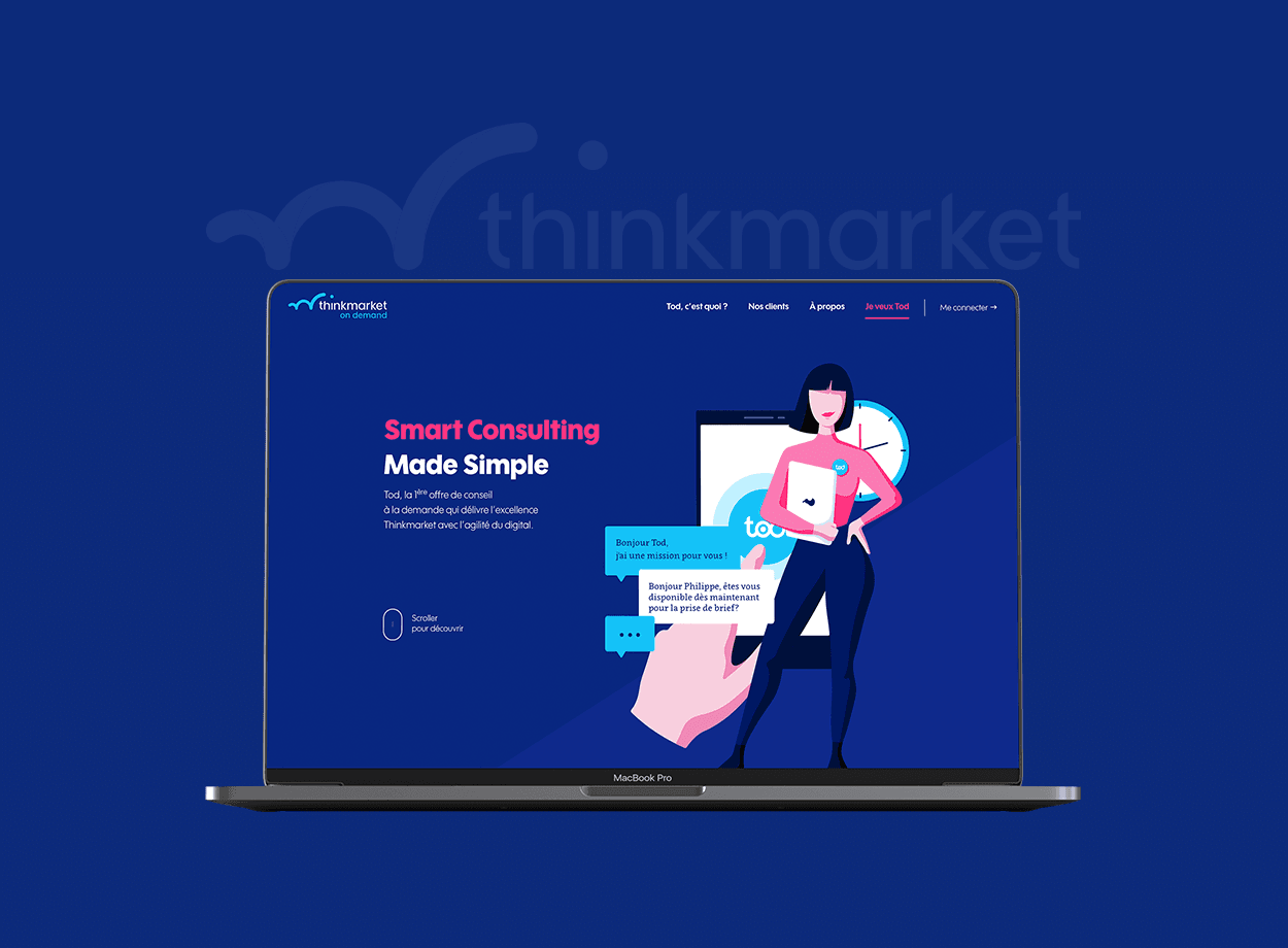 Thinkmarket On Demand par Agence Web Kernix