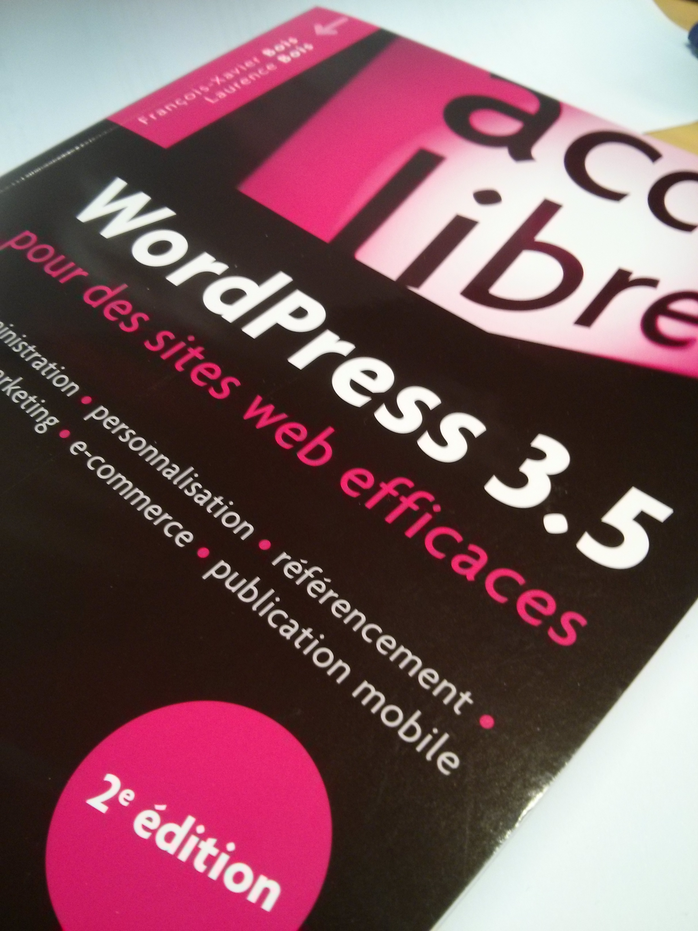 WordPress3.5 pour des sites web efficaces