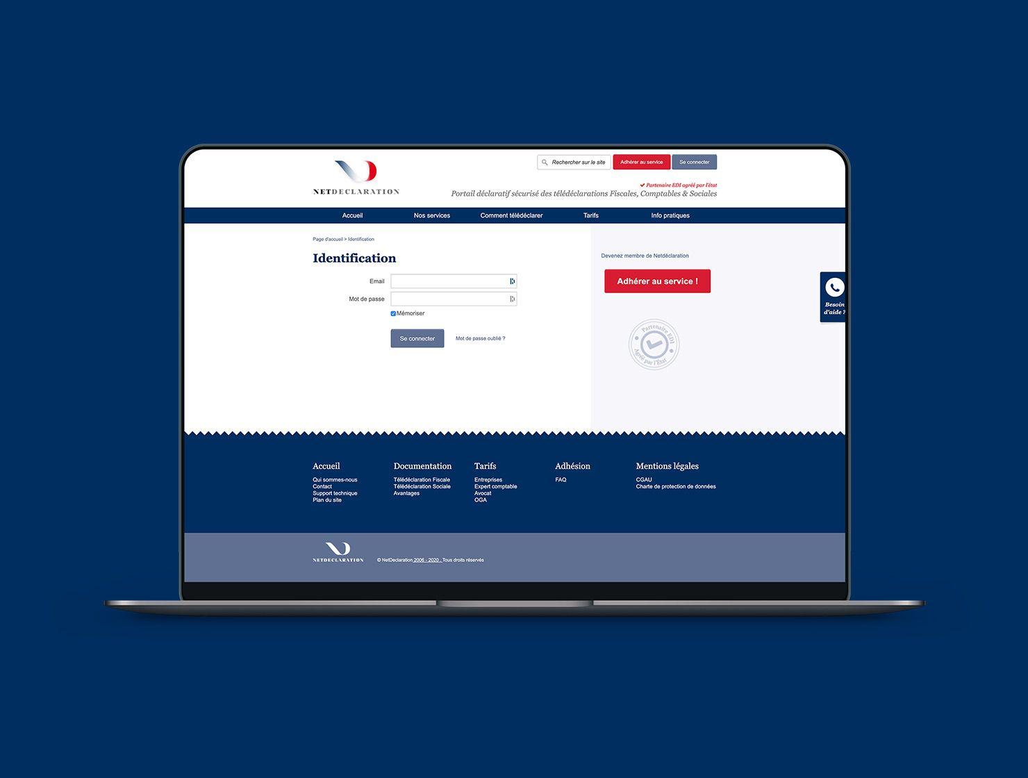 Net Déclaration par Agence Web Kernix