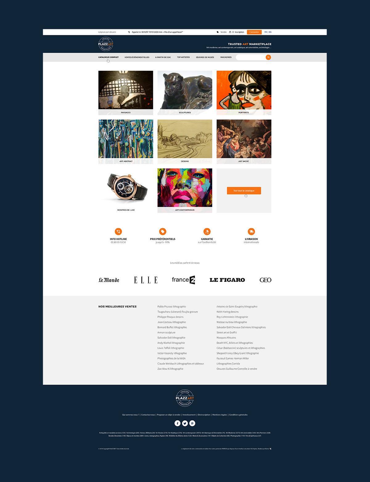 Plazzart par Agence Web Kernix