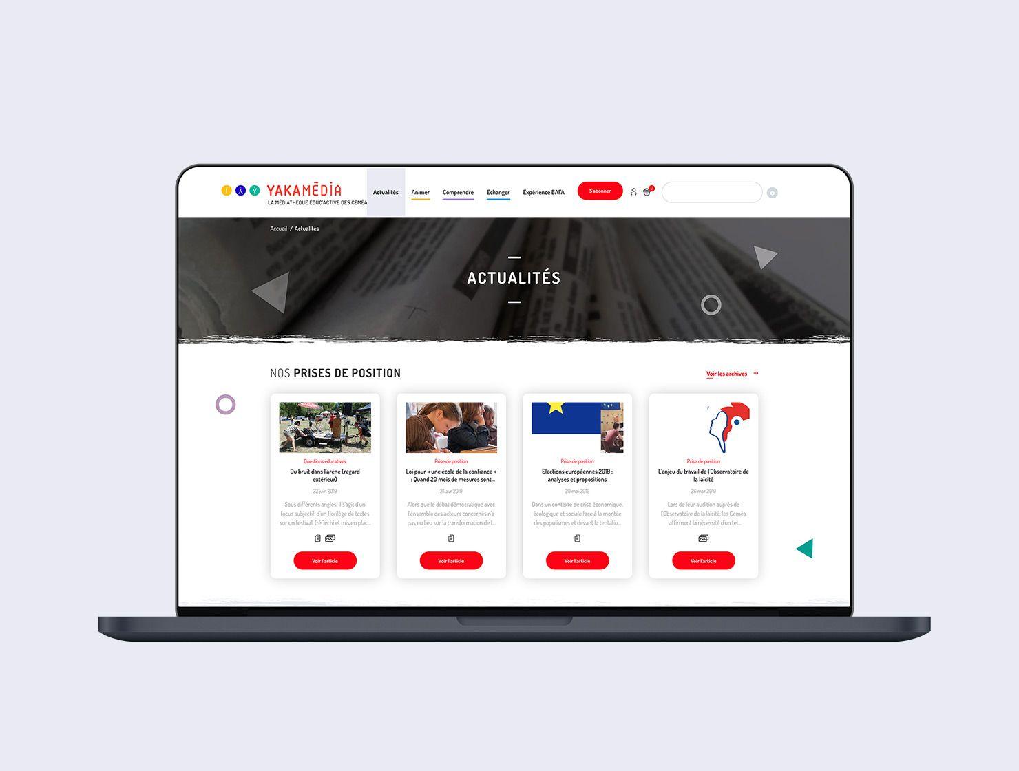 YAKAMÉDIA par Agence Web Kernix